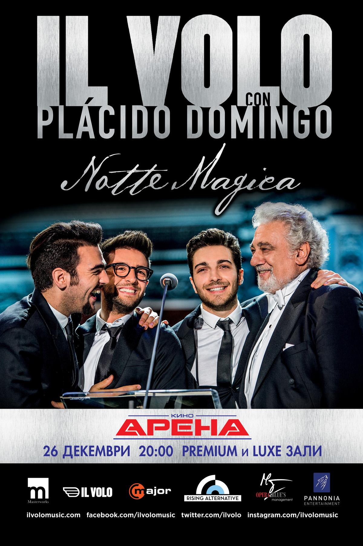 Il Volo: Notte Magica – a Tribute to The 3 Tenors