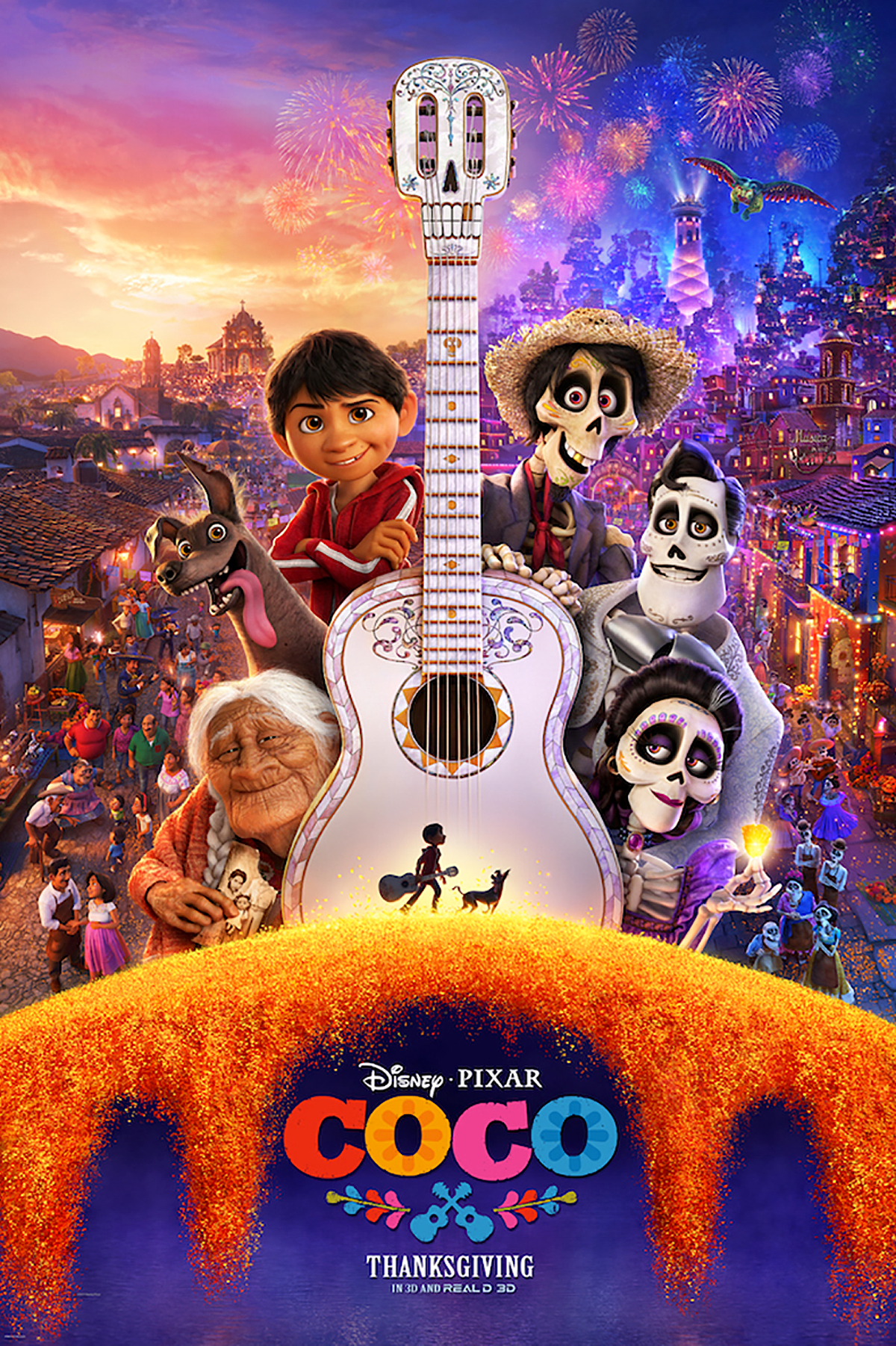Coco in English Audio RealD 3D