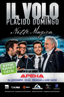 Il Volo: Notte Magica – a Tribute to The 3 Tenors