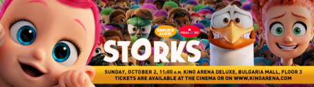 Storks in English Audio