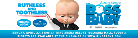 The Boss Baby in English Audio